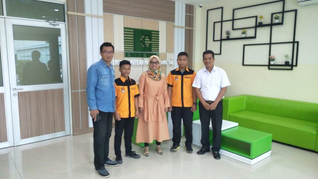Enseval percayakan kebersihan gedung kepada STS - PT. Sarana Tidar Sejahtera