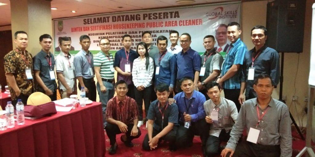 Jasa Cleaning Service Batam - SPV Area Ikuti Pelatihan Sertifikasi Public Area Cleaner