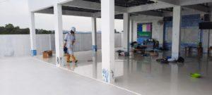 Jasa penyemprotan disinfektan corona di Kota Batam -
